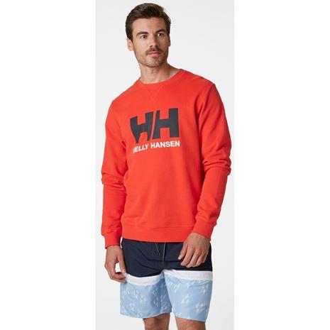 Helly Hansen HH Logo Crew Sweat - Alert Red