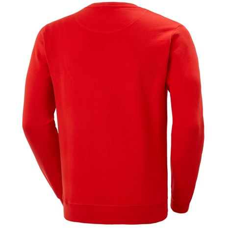 Helly Hansen HH Logo Crew Sweat - Alert Red - Rear