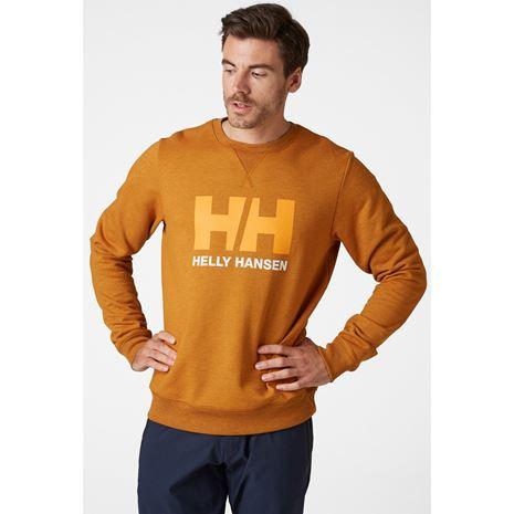 Helly Hansen HH Logo Crew Sweat - Marmalade
