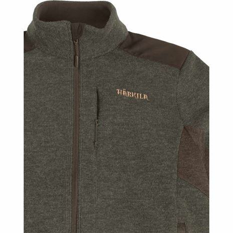 Harkila Metso Active Fleece Jacket - Willow Green