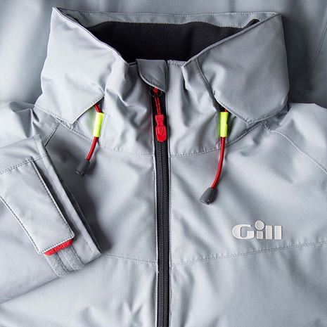 Gill Women's Navigator Jacket - Medium Grey - Detail