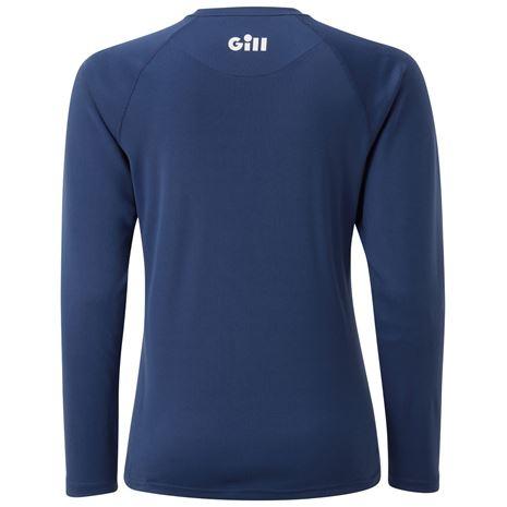 Gill Race Women's Long Sleeve Tee - Dark Blue - Rear