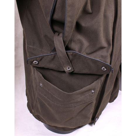 Jack Pyke Ashcombe Jacket - Olive Brown - Pocket detail