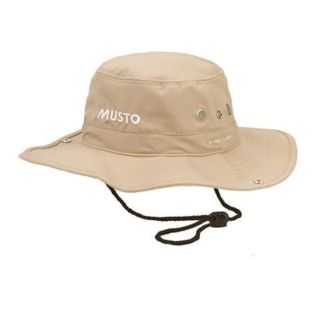 Musto Fast Dry Brimmed Hat - Light Stone