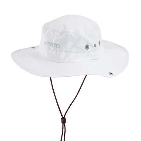 Musto Fast Dry Brimmed Hat - White