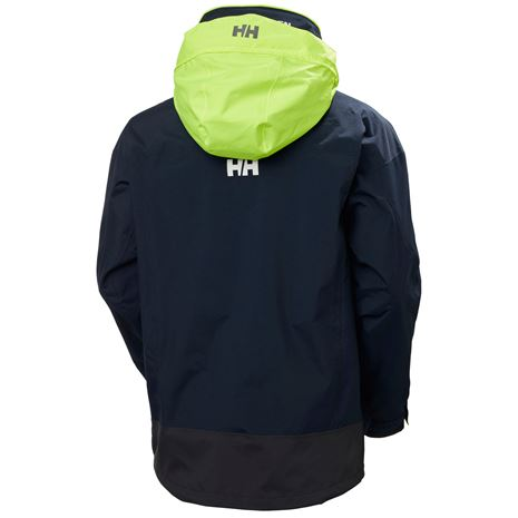 Helly Hansen Pier 3.0 Jacket - Navy - Rear