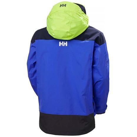 Helly Hansen Pier 3.0 Jacket - Royal Blue - Rear