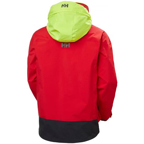 Helly Hansen Pier 3.0 Jacket - Alert Red - Rear