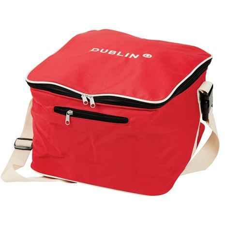 Dublin Imperial Hat Bag - Red/Cream