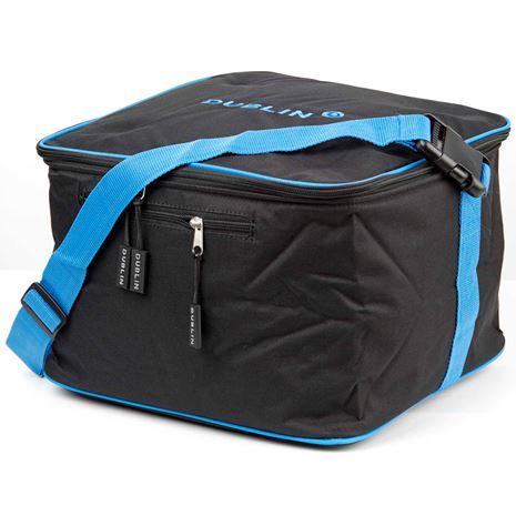 Dublin Imperial Hat Bag - Black/Blue