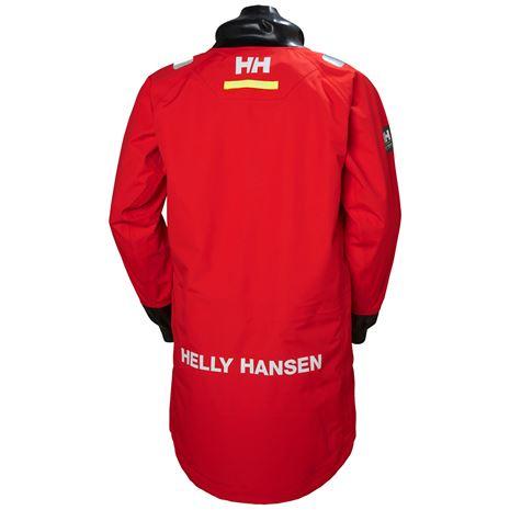 Helly Hansen Aegir Ocean Smock - Alert Red - Rear