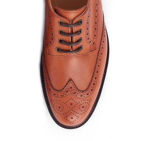 Dubarry Derry Brogue Shoe - Tan