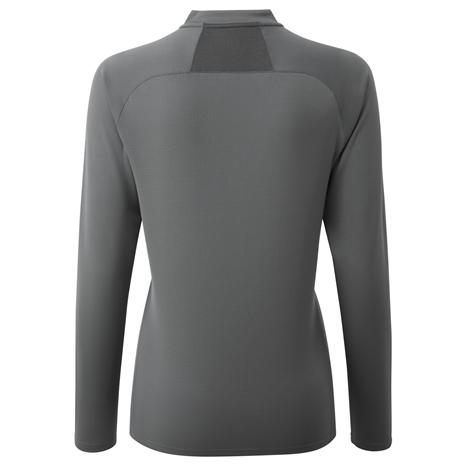 Gill Millbrook Women's Zip Tee - Steel Grey - Rear