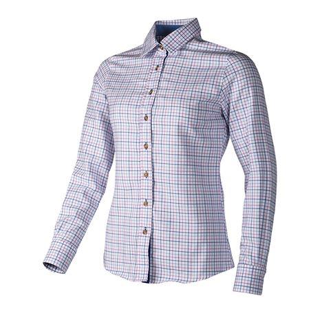 Baleno Nina Women's Check Shirt - Pink/Blue Check
