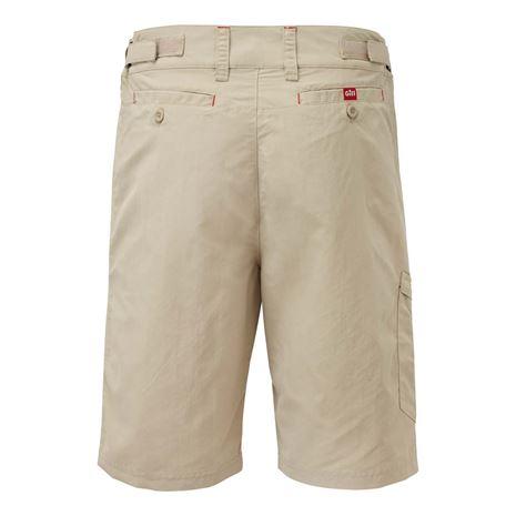 Gill Men's UV Tec Shorts - Khaki - Rear