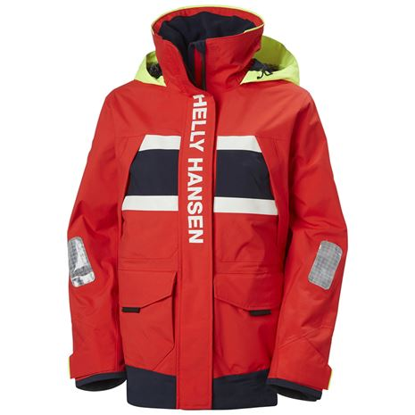 Helly Hansen Women's Salt Coastal Jacket - Alert Red