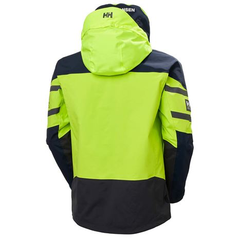 Helly Hansen Skagen Offshore Jacket - Azid Lime - Rear
