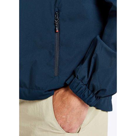 Dubarry Levanto Men's Crew Jacket - Navy - Pocket detail
