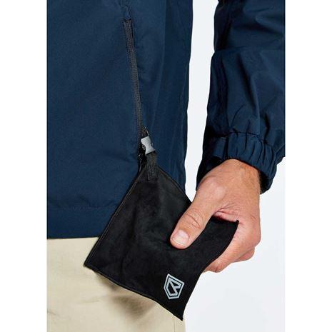 Dubarry Levanto Men's Crew Jacket - Navy - Glass Cleaner