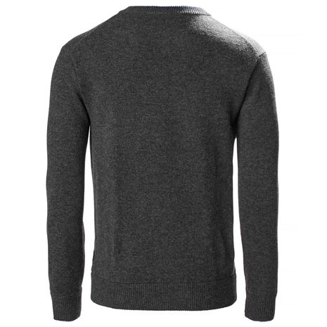 Musto Country V-Neck Knit - Charcoal