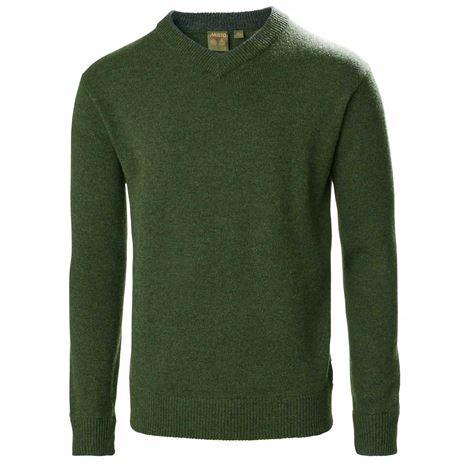 Musto Country V-Neck Knit - Rifle Green