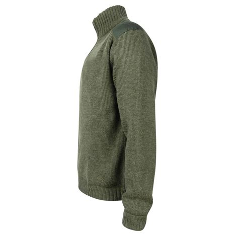 Hoggs of Fife Hebrides Zip-Neck Windproof Pullover - Side