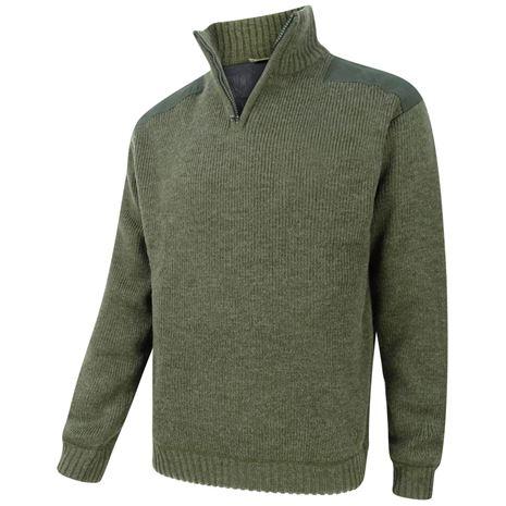 Hoggs of Fife Hebrides Zip-Neck Windproof Pullover