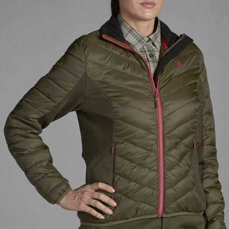 Seeland Hawker Hybrid women's Jacket - Pine Green