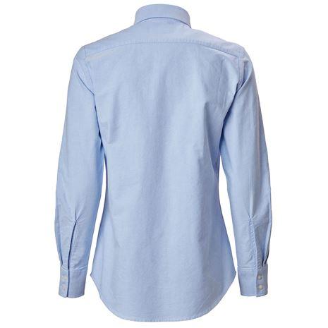 Musto Women's Oxford Long Sleeve Shirt - Pale Blue
