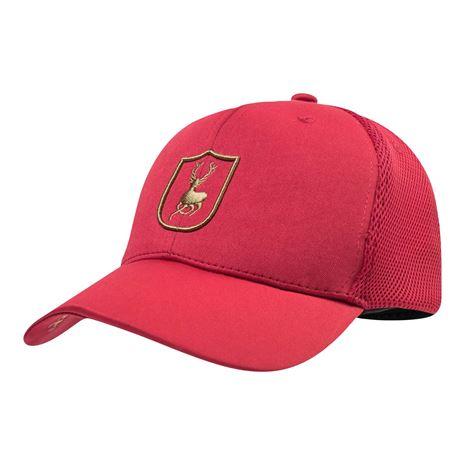 Deerhunter Mesh Cap with Logo -Red