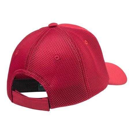 Deerhunter Mesh Cap with Logo -Red -rear