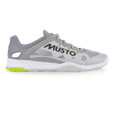 Musto Dynamic Pro II Sailing Shoe - Platinum - Side