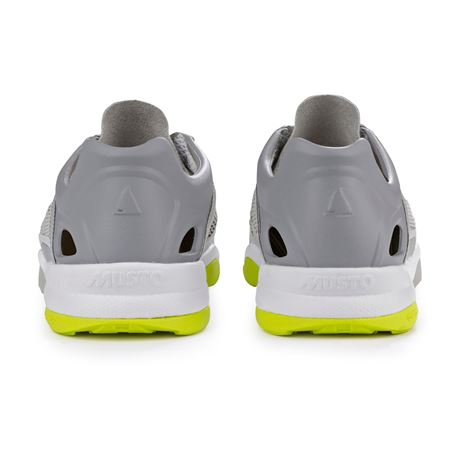 Musto Dynamic Pro II Sailing Shoe - Platinum - Heel
