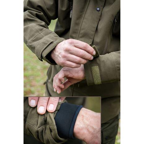 Jack Pyke Argyll Smock - Moss Green detail