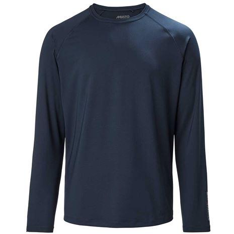 Musto Evolution Sunblock Long Sleeve T-Shirt 2.0 - True Navy