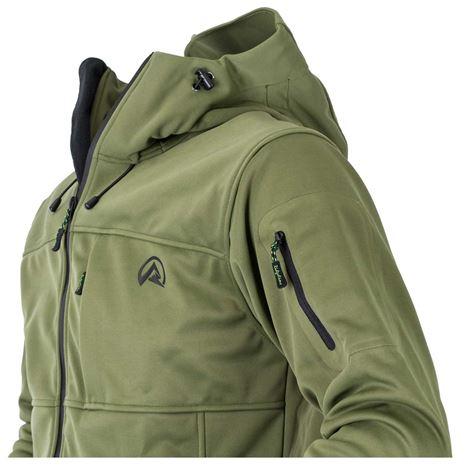 Ridgeline Ascent Softshell Jacket- Field Olive
