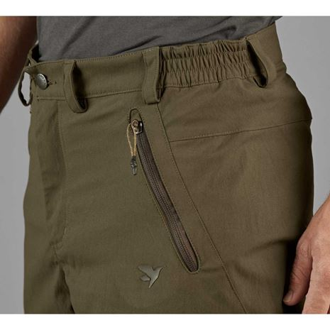 Seeland Outdoor Stretch Trousers - Pine Green