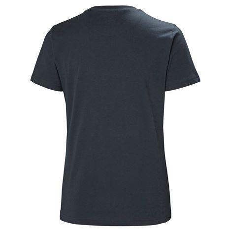 Helly Hansen Womens HH Logo T Shirt - Navy - Rear
