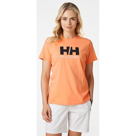 Helly Hansen Womens HH Logo T Shirt - Melon