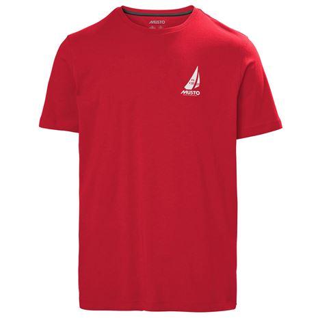 Musto Photographic T-Shirt - True Red