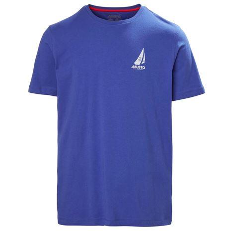 Musto Photographic T-Shirt - Marine Blue