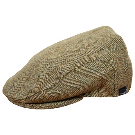 Extremities Woburn Tweed Flat Cap