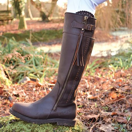 Mark Todd Masterton Boots - Cognac Brown