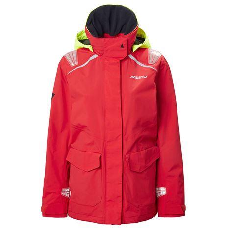 Musto Women's BR1 Inshore Jacket  - True Red